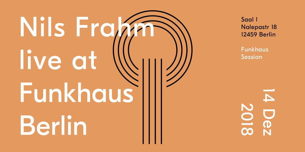 Tickets Nils Frahm,  in Berlin