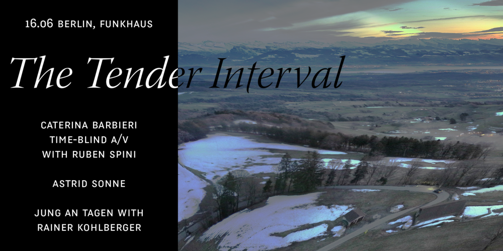 Tickets Caterina Barbieri presents The Tender Interval, live at Funkhaus in Berlin