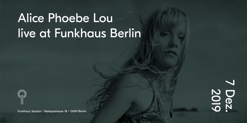 Tickets Alice Phoebe Lou, live at Funkhaus in Berlin
