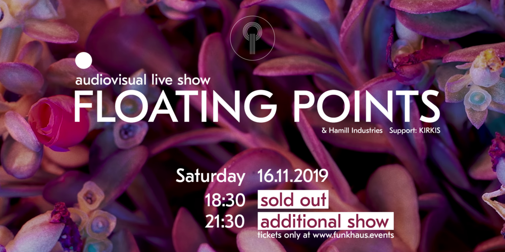 Tickets Floating Points, Live AV by Hamill Industries  in Berlin