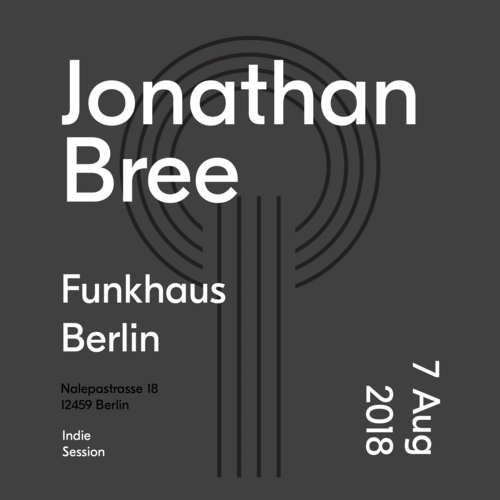 Buy tickets for Jonathan Bree at 2018-08-07