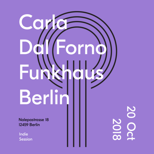 Buy tickets for Carla Dal Forno at 2018-10-20