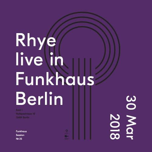 Buy tickets for Rhye  at 2018-03-30