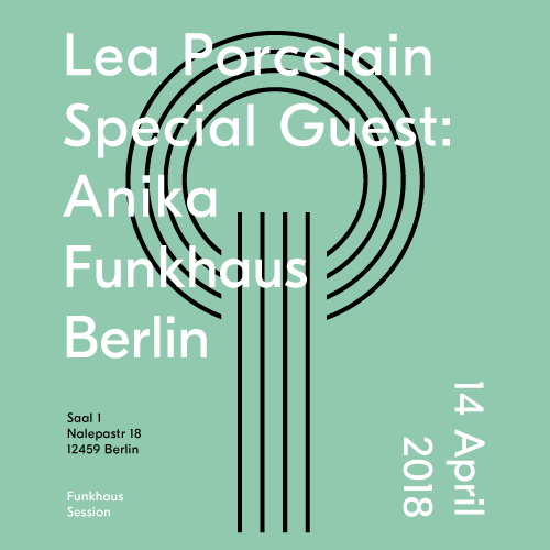 Buy tickets for Lea Porcelain + Special Guest: Anika (Solo) at 2018-04-14